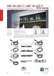 Katalogseiten ARF 68-LED 2, ARF 78-LED 2