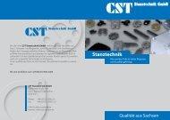 Versuch Flyer A3 auf A4.indd - CST Stanztechnik GmbH