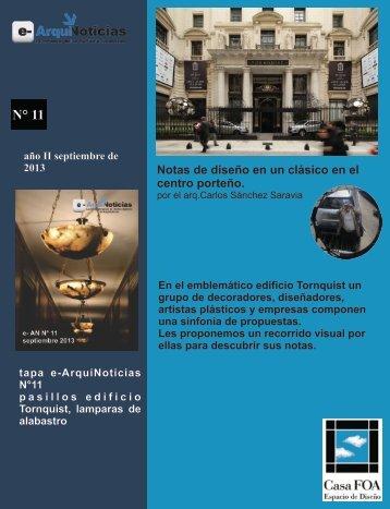 Notas de diseño en un clásico del centro porteño por el arq. Carlos Sánchez Saravia