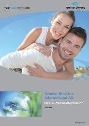Juni 2013 - Greiner Bio-One International AG