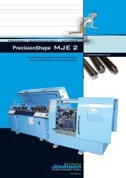 PrecisionShape MJE 2 - Jouhsen-bündgens Maschinenbau GmbH