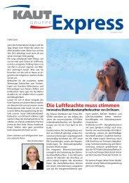 Ausgabe 1/2013 - Alfred Kaut GmbH + Co.