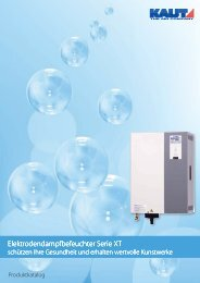 Elektrodendampfbefeuchter XT - Alfred Kaut GmbH + Co.