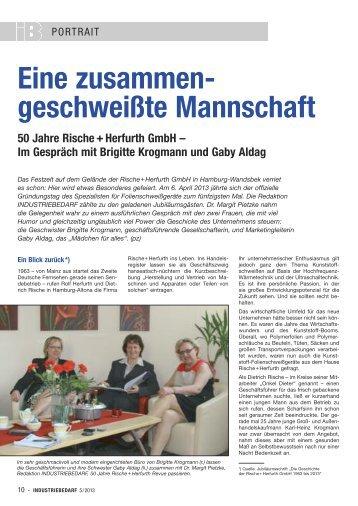 Herfurth Gmbh 3 free magazines from polystarhamburg