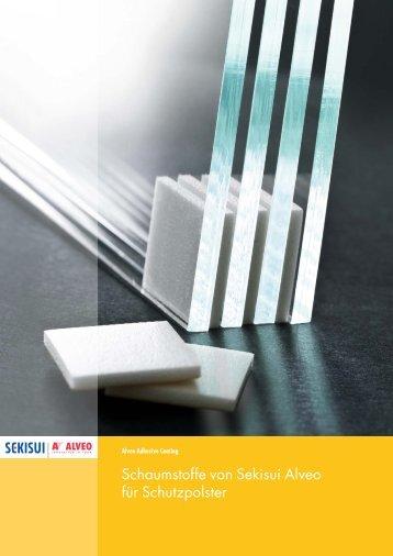 Schaumstoffe von Sekisui Alveo für Schutzpolster - Sekisui Alveo AG