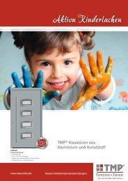 Aktion Kinderlachen - TMP Fenster + Türen