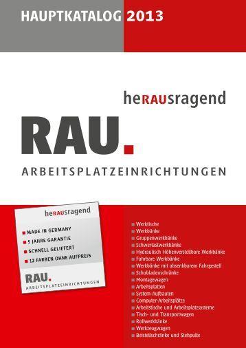 Hauptkatalog als PDF ansehen/downloaden - Rau GmbH