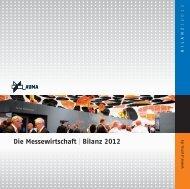 Die Messewirtschaft: Bilanz 2012 - Auma