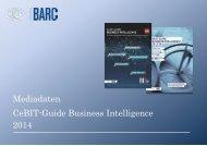 Mediadaten CeBIT -Guide Business Intelligence 2014 - Barc