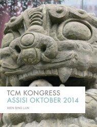 TCM Kongress Assisi 2014 - Avicenna Institut für Traditionelle ...