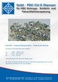Solid - PDC-CU-S Diamant - Becker Diamantwerkzeuge GmbH - Seite 2