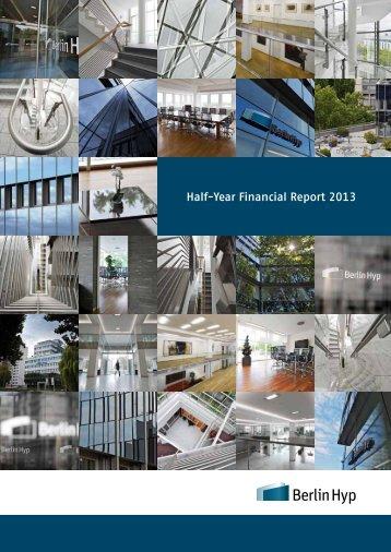Half-Year Financial Report 2013 - Berlin Hyp