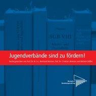 Jugendverbände sind zu fördern! - Deutscher Bundesjugendring