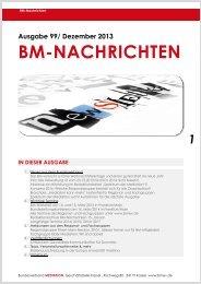 BM-Nachrichten Nr. 99 - Bundesverband Mediation eV