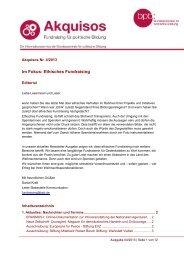Im Fokus: Ethisches Fundraising - Bundeszentrale für politische ...