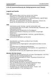 Z 01.02 Zusammenfassung der Wahlprogramme nach Themen ...