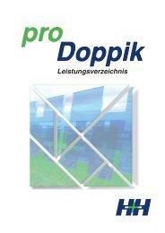 Leistungsverzeichnis proDoppik von H&H