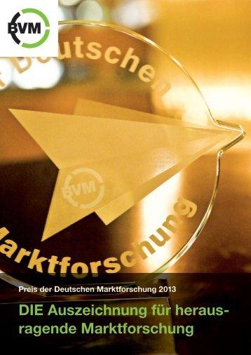 ragende Marktforschung - Berufsverband Deutscher Markt