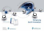 Firmenprospekt Download - Frank Verscaj GmbH