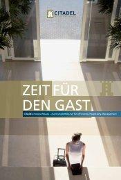 Citadel Hotelsoftware – die Komplettlösung für effizientes Hospitality ...