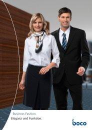 Business Fashion. Eleganz und Funktion. - CWS-boco
