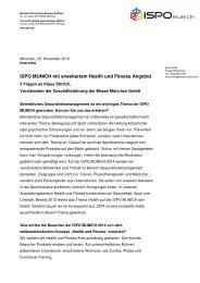 3 Fragen an Klaus Dittrich, Vorsitzender der ... - DGSP