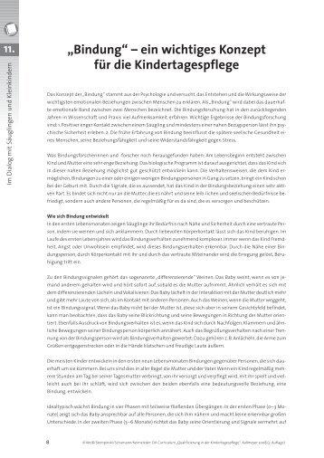 """""""Bindung"""" – ein wichtiges Konzept für die - Deutsches Jugendinstitut ..."""