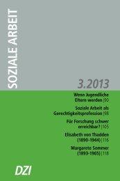 Elisabeth von Thadden - Deutsches Zentralinstitut für soziale Fragen