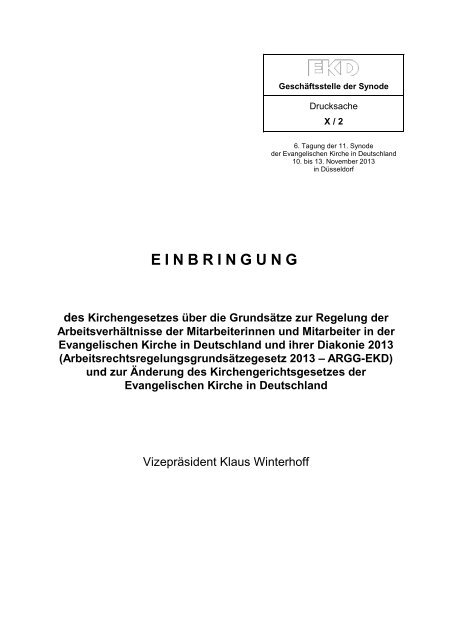 PDF-Version - Evangelische Kirche in Deutschland