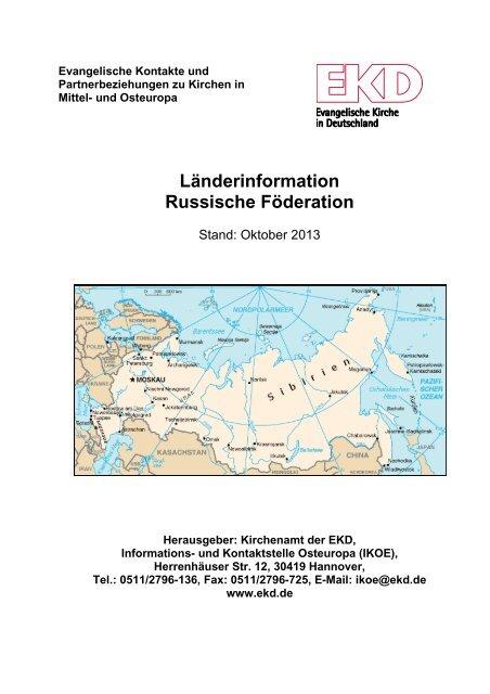 Russische Föderation - Evangelische Kirche in Deutschland