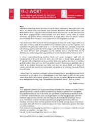StichWort zum 23. Juni 2013: 1. Samuel 24, 2-20.23b | PDF 82,0 kB