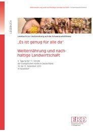 Es ist genug für alle da - Evangelische Kirche in Deutschland