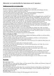 Bibelarbeit Landesbischöfin Junkermann
