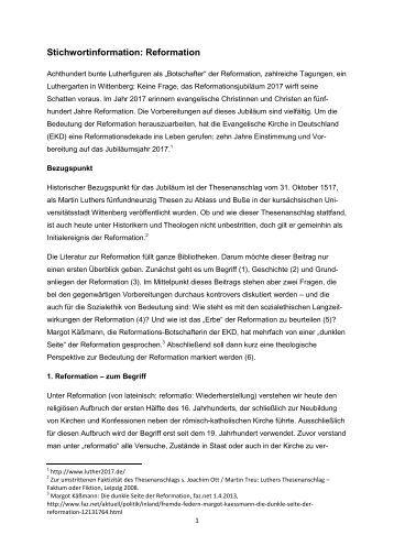 Text erstellt: November 2013   PDF 0,71 MB - Evangelische Kirche ...