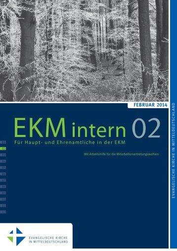 EKMintern_022014 - Evangelische Kirche in Mitteldeutschland