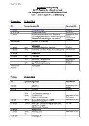 Vorlaeufige Ablaufplanung 20130404 - Evangelische Kirche in ...
