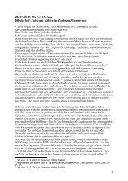 Bibelarbeit Altbischof Dr._Kähler - Evangelische Kirche in ...