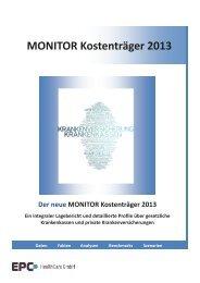 MONITOR Kostenträger 2013