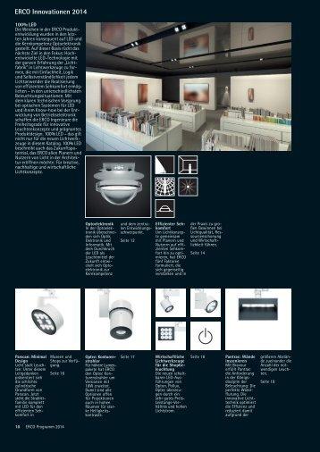 ERCO Innovationen 2014