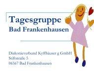 Sozialpädagogische Tagesgruppe Bad Frankenhausen - Erev