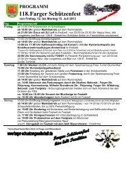118. Schützenfest (2013) - Farger Schuetzengesellschaft von 1895