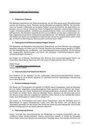 Datenschutzerklärung Firmenwissen 1. Allgemeine Hinweise Der ...