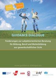 Flyer Guidance Dialogue_deutsch - GEW