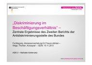 """""""Diskriminierung im Beschäftigungsverhältnis"""" – - GEW"""