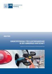 Einsatzpotenziale für Elektrofahrzeuge in der Hamburger Wirtschaft