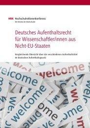 Deutsches Aufenthaltsrecht für Wissenschaftler/innen aus Nicht-EU ...