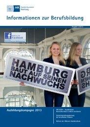 Informationen zur Berufsbildung Ausgabe 1/2013 - Handelskammer ...