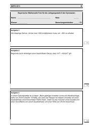 BMT8 2013 – Aufgaben (Gruppe B) - ISB