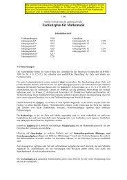 Download LehrplanM_G9alt.pdf - ISB