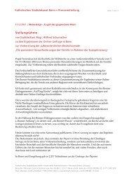 Stellungnahme von Stadtdechant Msgr. Wilfried ... - Kath Bonn
